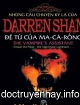 Những câu chuyện kỳ lạ của Darren Shan ( Tập 2: Đệ tử của Ma cà rồng )